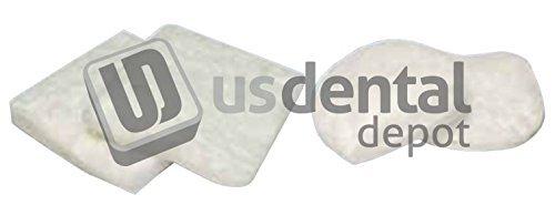 KEYSTONE - Soft Pillow Round Spr - 6pk - Soft tray for firing porcelai 034-5920110 Us Dental Depot