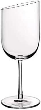 Villeroy & Boch 11-3653-8120 NewMoon Set 4 Piezas, Elegantes y Contemporaneas Copas de Vino Blanco, Apto para lavavajillas, Cristal, Transparente