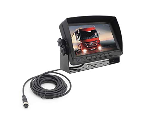 Amazon.com: L-CAM Reversing Radar and Monitor Display, Truck, School Bus, RV Safety Reversing Radar Image Integrated Screen Sound Reminder: Sports & ...
