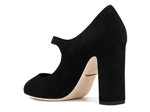 80999 Dolce Black in A1275 CD0883 Model Black Mary Pumps Number Janes Leather Suede Gabbana amp; fw1rqfOg