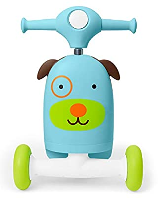 Skip Hop Kids 3-in-1 Ride On Scooter and Wagon Toy from Skip Hop