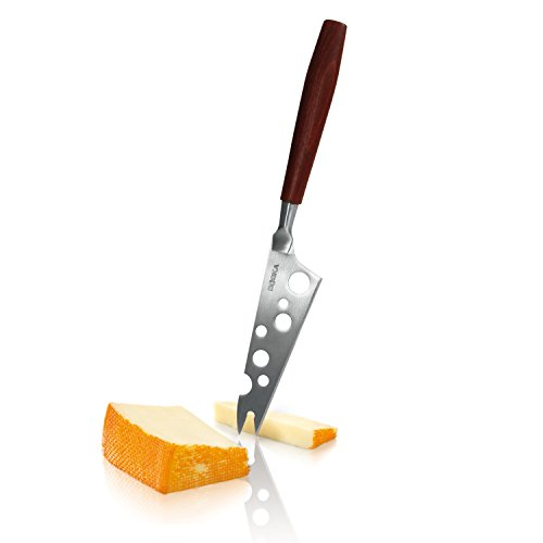 (Boska Holland Cheese Knife with Rose Wood Handle, Cheesy Blade with Forked Tip, 10 Year Guarantee, Taste Collection)