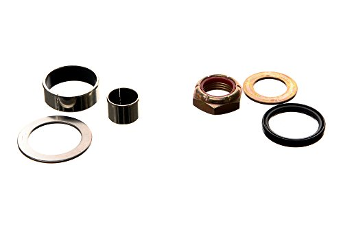 (REPLACEMENTKITS.COM - Brand Fits Mercruiser Steering Pin Seal Bushing & Nut kit Replaces 26-8M2005029 23-98356 & 23-983571 -)