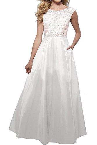 Ivydressing -  Vestito  - linea ad a - Donna bianco 40