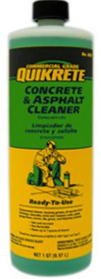 Quikrete Concrete And Asphalt Concentrate Cleaner Non Flammable 1 Qt