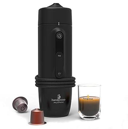 Handpresso 48309: cafetera portátil de expreso de cápsula, 120 W, 0,05
