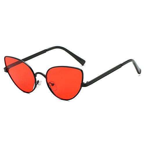Conducción Sol Marca UV400 Gafas Marco Kimruida Metal Gato Gafas 2 Retro Designer Mujer de Ojo 4 wwIFzSCq