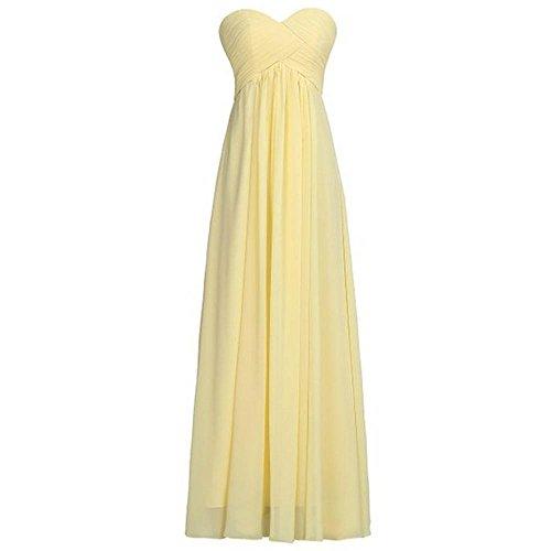 Vestido de Novia de la Dama de noche largo del Vestido de las mujeres: Amazon.es: Ropa y accesorios