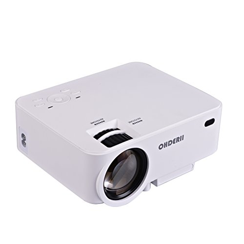 ohderii 1500ANSI efficiency Projector Resolution