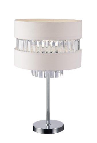 """Canarm ITL426A23CH Ballard 1-Light Table Lamp, 22"""" x 13"""" x 13"""""""