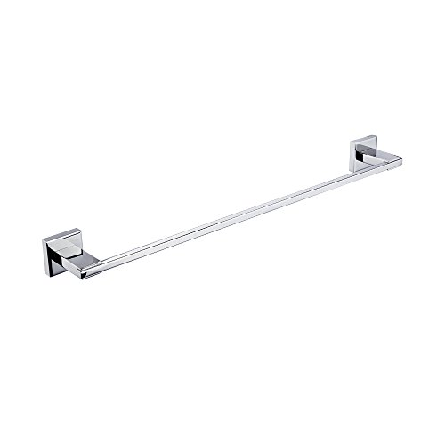 KES 24-Inch Bathroom Single Towel Bar Wall Mount Polished SUS 304 Stainless Steel, A2400 by Kes