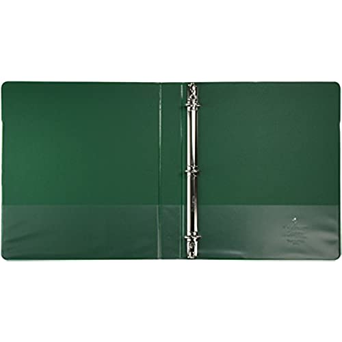 best sparco 3 ring binder 1 inch capacity 11 x 8 1 2 inches green