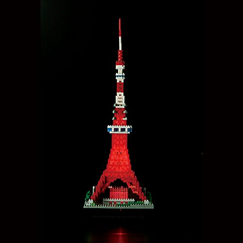 nanoblock Tokyo Tower Deluxe Edition NB-018 by Kawada (Image #10)