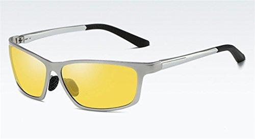 Sol al de Libre la MOQJ Ultravioleta polarizadas A de los Protección la Gafas Aire Deportes Conducción Sol de Hombres Gafas los E de de de antideslumbrantes fwqq0xpE1