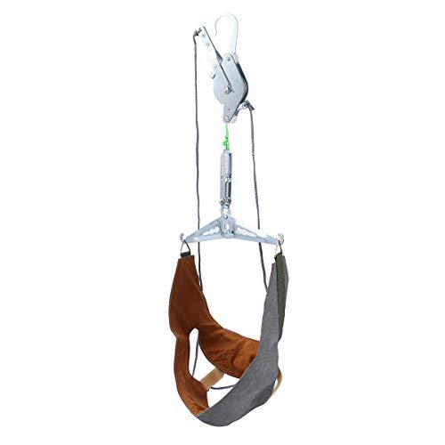 日光表面いいねHealifty 家庭用 頚椎 牽引 頭痛 ストレッチ 吊り下げ式 首頸部 マッサージ 牽引装置 ネックサポート 頚椎首ガード保護スリーブ ネックホルダー(ランダムカラー)
