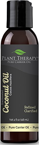 Plant Therapy Coconut (Fractionated) Carrier Oil 4 oz