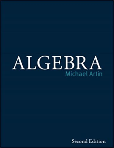 amazon algebra michael artin algebra