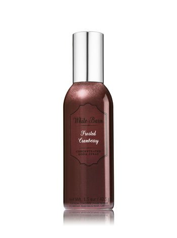 Bath & Body Works Room Perfume Spray Frosted Cranberry 2017