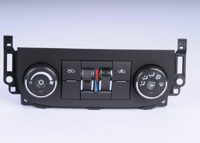 ACDelco 15-74130 GM Original Equipment Heating and Air Conditioning Control Panel with Rear Window Defogger Switch -
