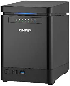 QNAP ts-453mini 2.0 GHz 8 GB RAM de 4 Bay NAS Server Bundle con 4 x 3TB WD Red 24/7