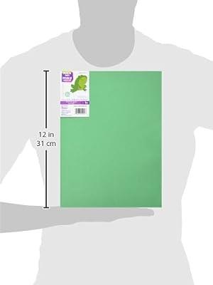 "Foam Sheet 9""X12"" 2mm-Christmas Green, Pack of 10"