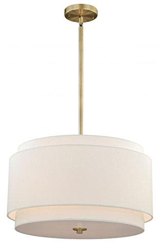 Amazon.com: Vaxcel p0192 Burnaby 4 lámpara de techo, acabado ...
