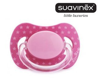 Psysiological Latex Pacifier Soother Dummie 0m+ (Pink) 3393108 by Erwinshy