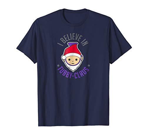 Teletubbies Adult T Shirt - Christmas