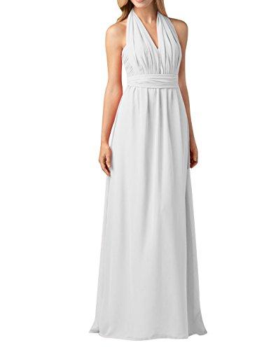 Einfach Brau Brautjungfernkleider Partykleider mia Festlichkleider Elfenbein Langes Linie Abendkleider A Chiffon La Rock nxEH6H