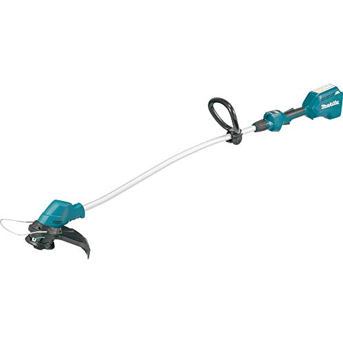 Makita XRU08Z 18V LXT Lithium-Ion Brushless Cordless Curved Shaft String Trimmer, Tool Only