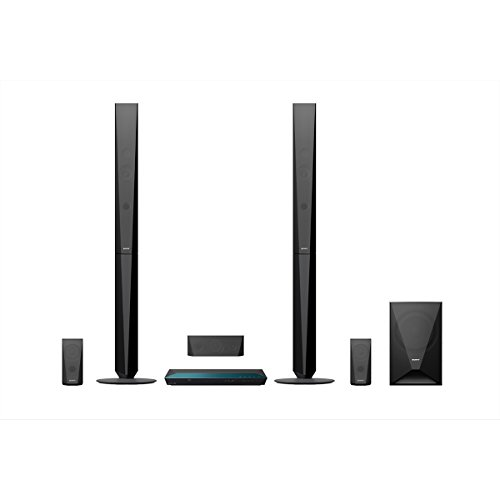 Sony BDV-E4100 1000 W Home Cinema System with Tall Speakers (Blue-Ray, 3D,...