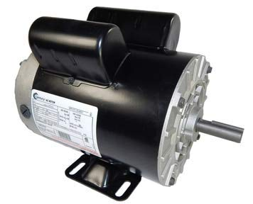 5 HP SPL 3450rpm P56 Frame 230 Volts Replacement Air Compressor Motor - Century Motor # B385 (Certified Refurbished)