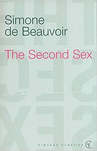 Amazon The Second Sex De Beauvoir Simone Feminist Theory