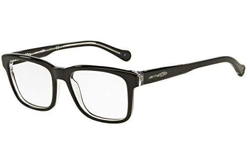 Arnette Output AN7101 - 1019 Eyeglasses Gloss Black / Crystal Frame ()