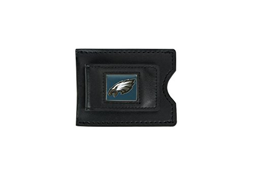 Philadelphia Eagles Clip (NFL Philadelphia Eagles Leather Money Clip and Card Case)