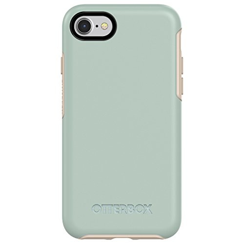 (OtterBox SYMMETRY SERIES Case for iPhone 8 & iPhone 7 (NOT Plus) - Retail Packaging - MUTED WATERS (SURF SPRAY/SILVER LINING))