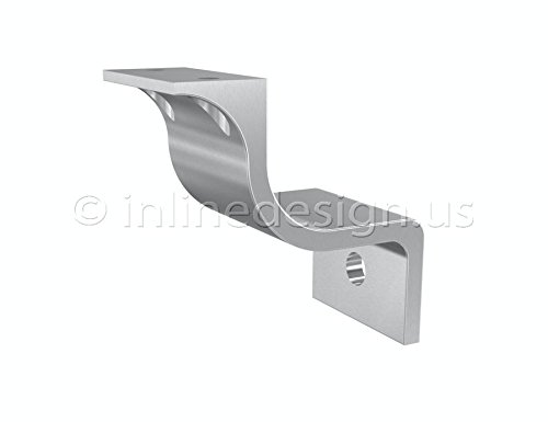 Stainless Steel Handrail Wall Bracket Pulsar (Square Handrail Bracket compare prices)