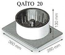 Br/ûleur /à pellets Qaito pour insert et po/êle /à bois Mod/èle Q20