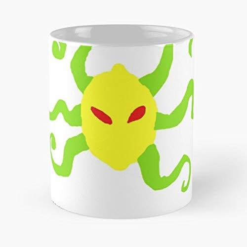Evil Spongebob Mermaid Man Lemons - The Office 11 Ounces Funny Coffee Mugs. -