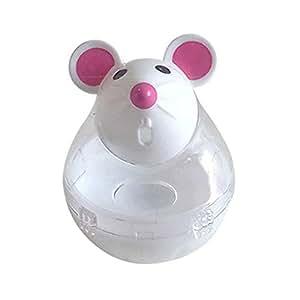 mAjglgE Dispensador de Comida para Gatos y Gatos con Forma de ratón de la Marca: Amazon.es: Productos para mascotas