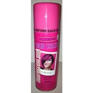Temporary Hair Color Fluorescent Pink 3 oz. Spray
