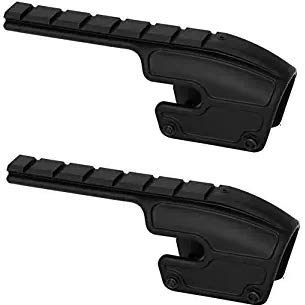 Weaver 48340 No-Gunsmith Converta Shotgun Mount - Remington 870, 1100, and 1187 (12 and 20 Gauge) Gloss Black
