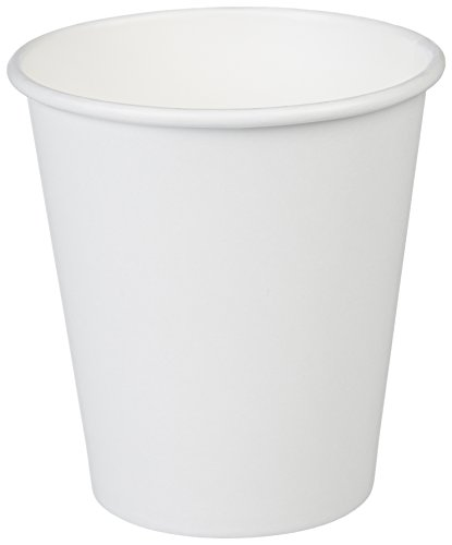 AmazonBasics 10 oz. Paper Hot Cup, 1,000-Count (White Paper Hot Cup)