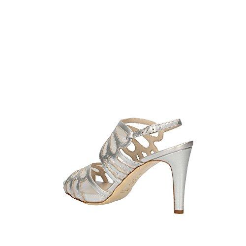 Melluso S845 Sandale Frau Silber