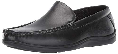 Slip On Venetian - Nunn Bush Men Brentwood Moccasin Venetian Loafer Slip-On, Black, 11
