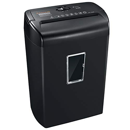Bonsaii 10-Sheets Cross-Cut Paper & Credit Card Shredder 5.5 Gallons Deal (Large Image)