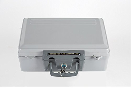 Portable Fireproof Data and Cash Safe by The Fireproof Safe Company Ltd