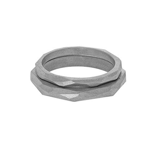 Charlotte Valkeniers - Bague - Argent 925 - T54.5 - Facet Ring Set S - M