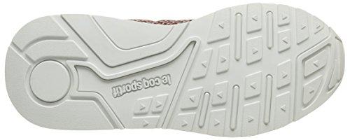 Le Chaussures Coq R900 Adulte Mixte Titanium de Sport Geo Sportif LCS Jacquard Gris wfwq1TZ