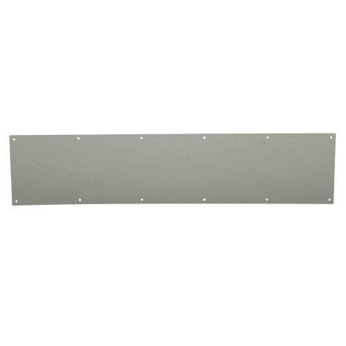 Schlage 8400-8x34 8-Inch x 34-Inch Aluminum Kickplate, Satin Nickel (Plate Kick Aluminum Nickel Satin)